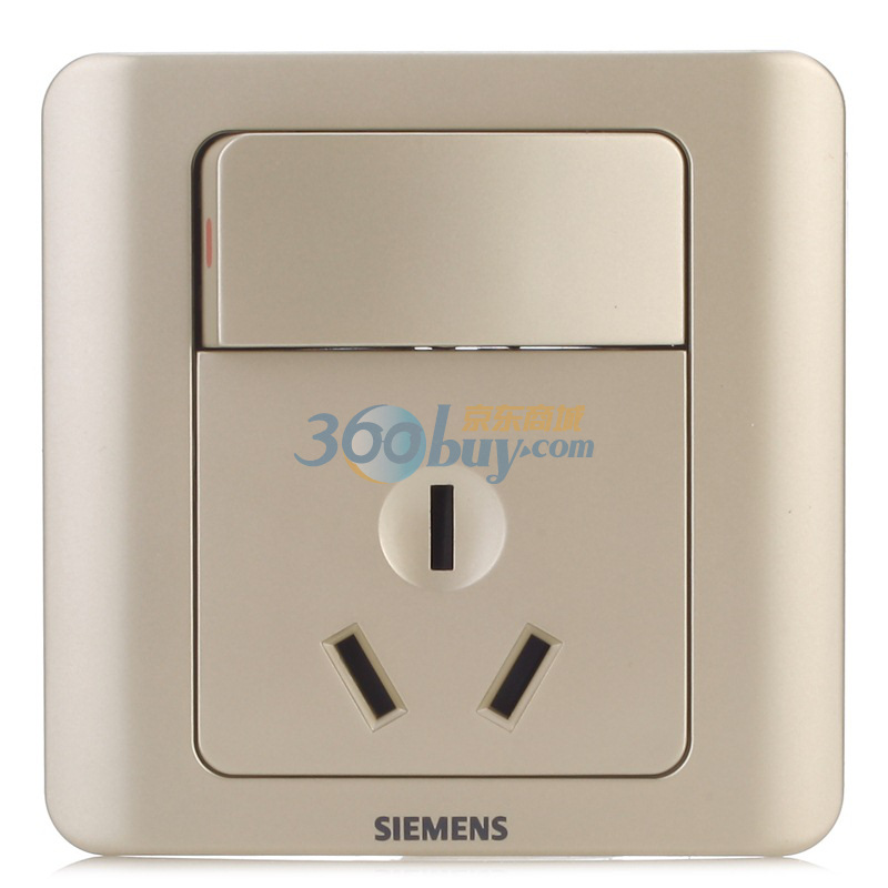 西门子(siemens)5ub02021cc133 远景16a带大年夜翘板开关插座