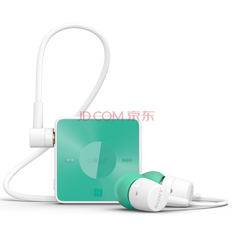 索尼(sony) sbh20 蓝牙耳机 绿色