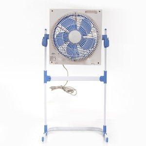 aux 奥克斯 电风扇 落地升降转页扇 机械定时静音电扇 kyt-30-d1203