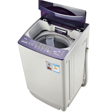 tcl 6公斤全自动波轮蓝光杀菌洗衣机xqb60-1676nsz02蓝光杀菌 三