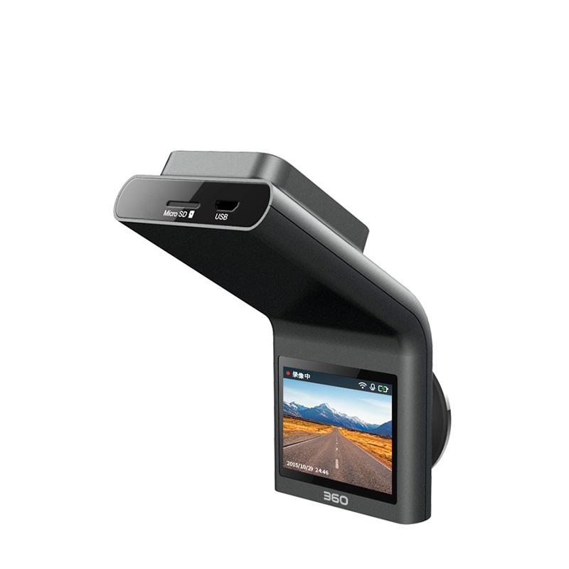 360行车记录仪 G300 迷你隐藏 高清夜视 无线测速电子狗一体的图片