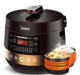 美的(Midea) MY-YL60Easy203 微电脑式双胆电压力锅 6L