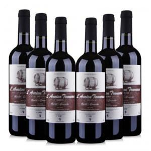 法国原瓶进口红酒 老木桶干红葡萄酒整箱6瓶750ml