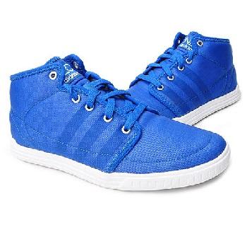 阿迪达斯 neo系列 男式纯色舒适休闲鞋 g53303