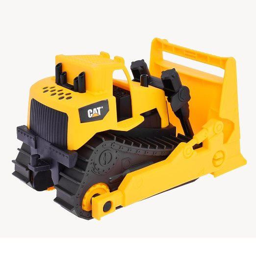 cat 卡特彼勒 ct82012 低幼系列玩具 8英寸推土车*3个