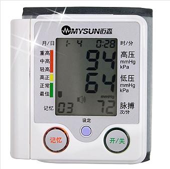 迈森 家用全自动腕式电子血压计 pg-800a4